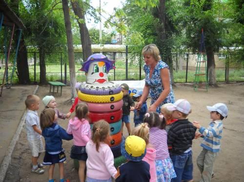 Площадки в детских садах своими руками фото